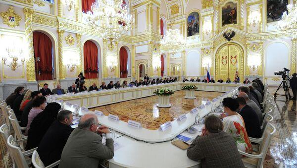 Заседание Совета при президенте РФ по правам человека. Архивное фото