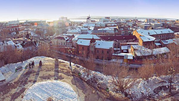 Томск, архивное фото