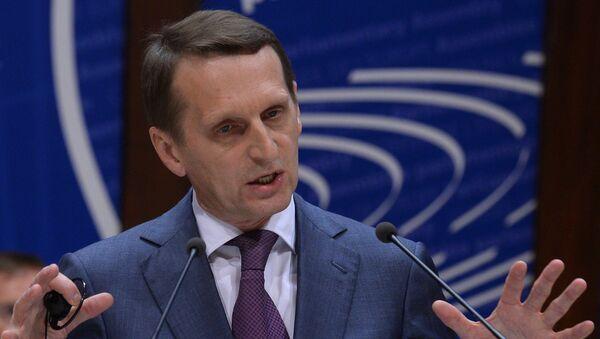 Визит председателя Госдумы РФ С.Нарышкина в Страсбург, фото с места событий