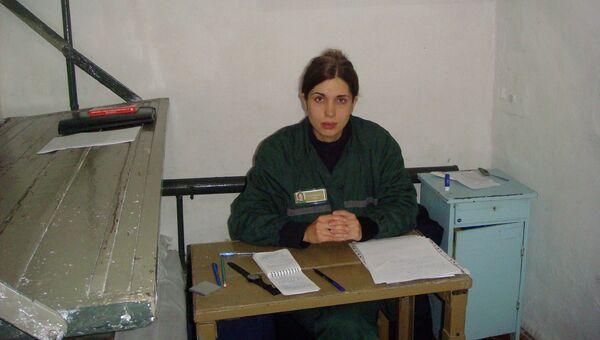 Надежда Толоконникова в одиночной камере в колонии.  Архивное фото