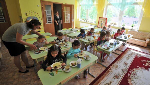 Работа детского сада. Архивное фото