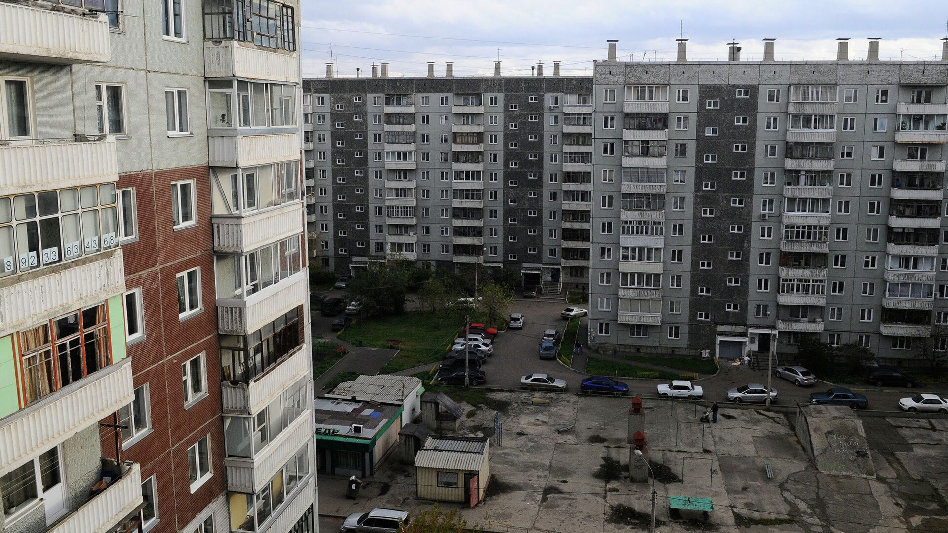 Многоэтажная застройка - РИА Новости, 1920, 29.01.2018