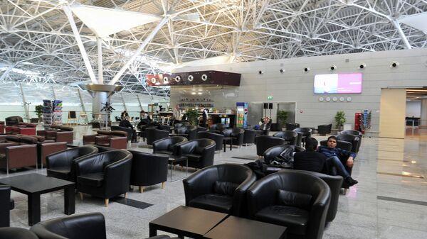 Бизнес-зал терминала А аэропорта Внуково. Архивное фото
