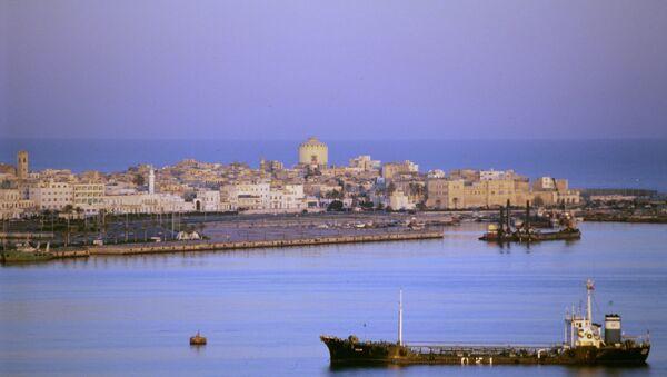 Ливия. Город Триполи. Архивное фото