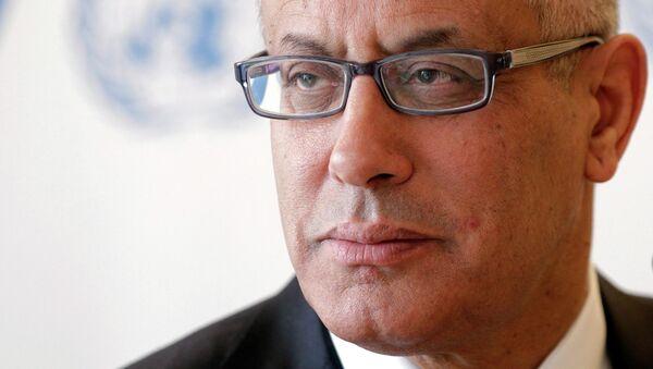 Премьер-министр Ливии Али Зейдан, архивное фото