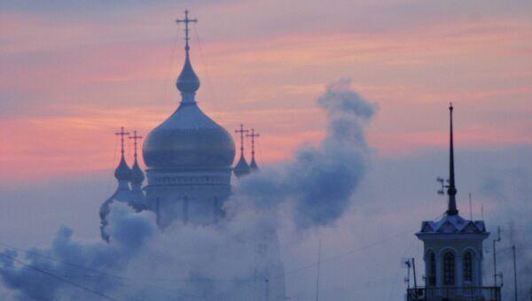 Спасо-Преображенский собор в Хабаровске. Архивное фото