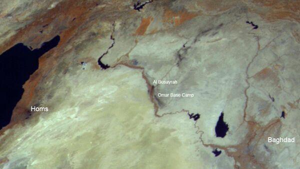 Дым пожаров на территории Сирии на снимках Электро-Л, фото с места события