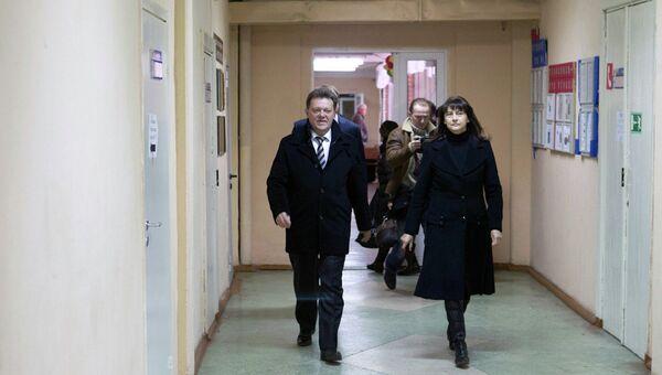 Иван Кляйн с женой Галиной, архивное фото