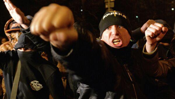 Беспорядки в московском районе Бирюлево, фото с места события