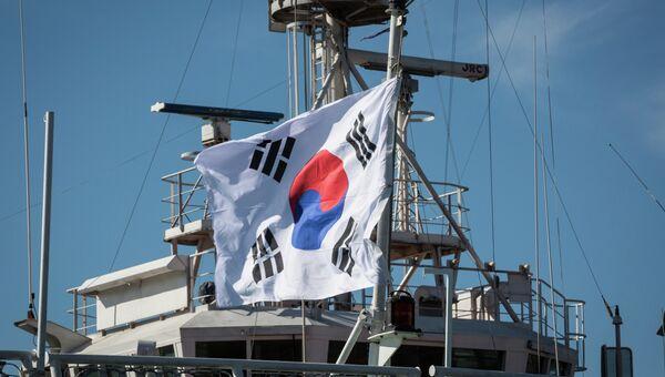 Патрульный корабль Национального агентства морской полиции Республики Корея. Архивное фото