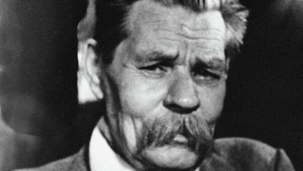 Писатель Максим Горький. Архивное фото