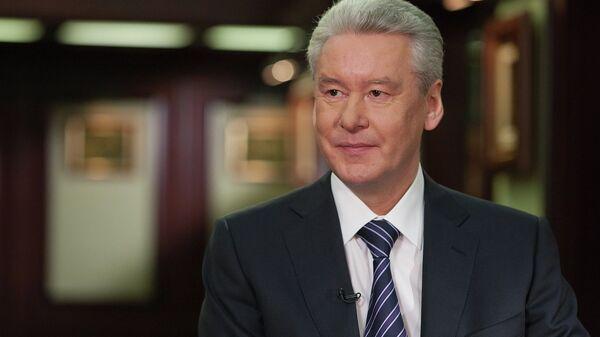 Мэр Москвы Сергей Собянин, архивное фото