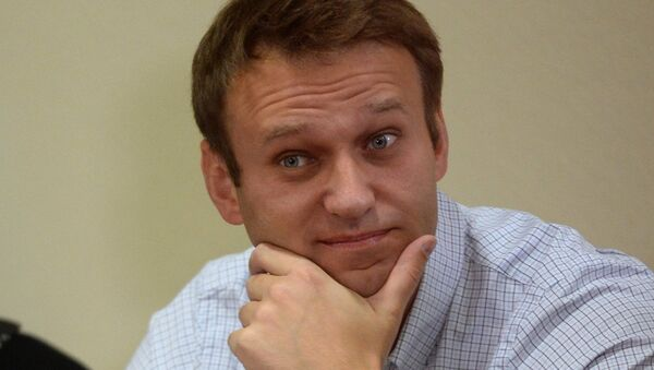 Оппозиционный политик Алексей Навальный, архивное фото