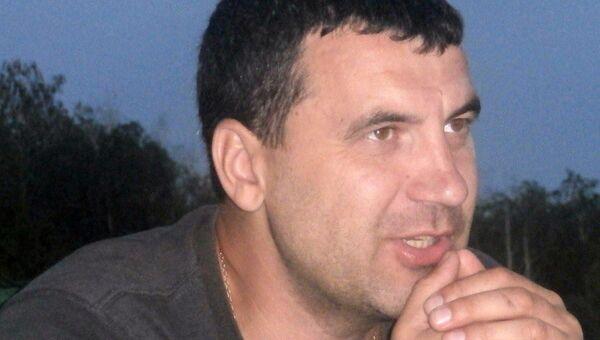 Андрей Читалов, подозреваемый в убийстве основателя сети магазинов Горилка