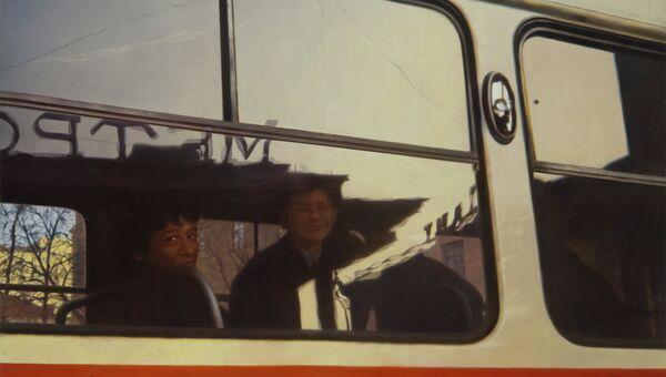 Семен Файбисович. Станция метро Кировская, 1988 г.