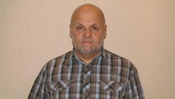 Новосибирский психотерапевт Александр Буцких, фото из архива