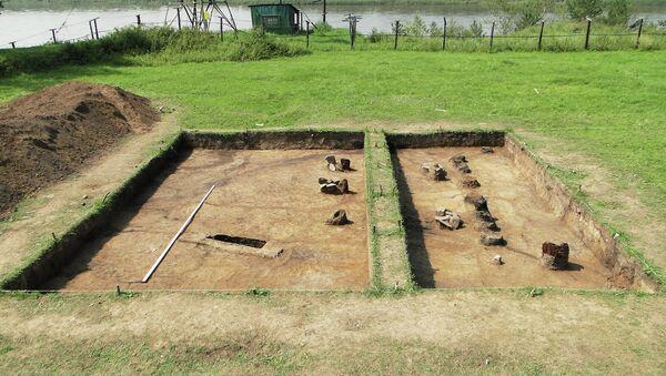 Археологические раскопки в Амурской области, Албазинский острог