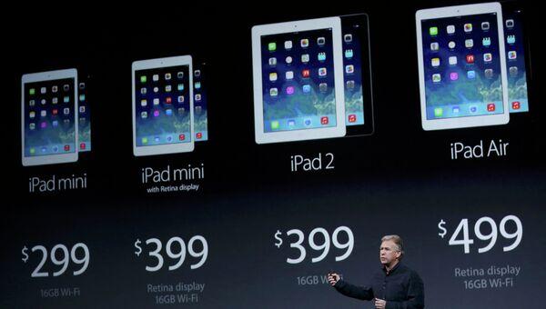 Презентация iPad в Йерба Буэна Сентер, Сан-Франциско