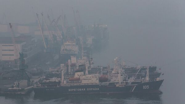 Порт Владивосток. Архивное фото