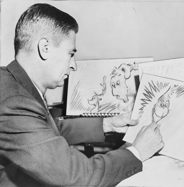 Американский детский писатель и мультипликатор Теодор Сьюз Гейзель