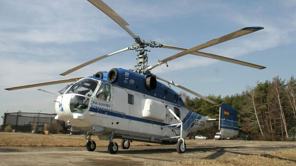 Вертолет КА-32. Архивное фото