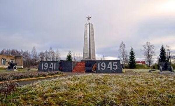 Мемориал погибшим томичам в Смоленской области, архивное фото