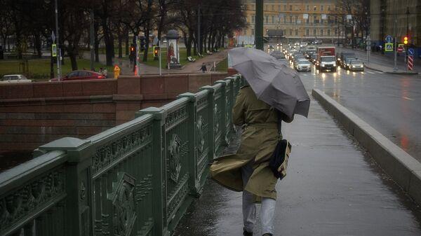 Сильный ветер в Санкт-Петербурге
