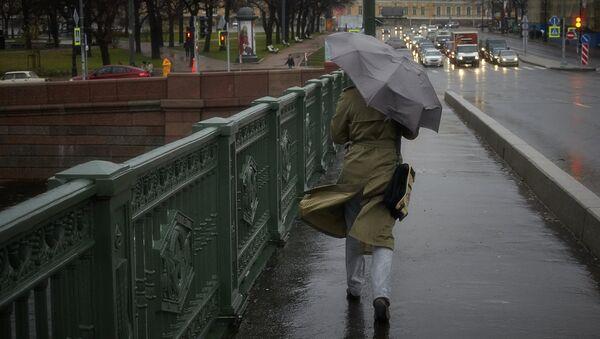 Шторм Святой Иуда в Санкт-Петербурге. Архивное фото
