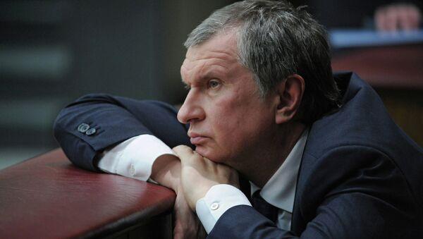 Заместитель председателя правительства РФ Игорь Сечин. Архивное фото