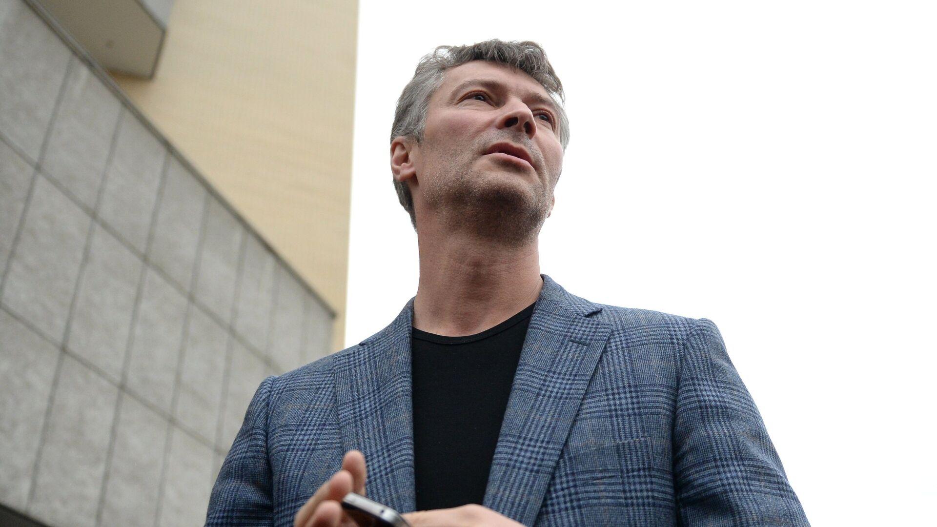 """Ройзман исключил выдвижение от """"Яблока"""" из-за слов Явлинского о Навальном"""