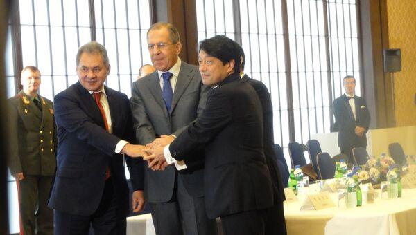 Министр обороны Японии Ицунори Онодэра