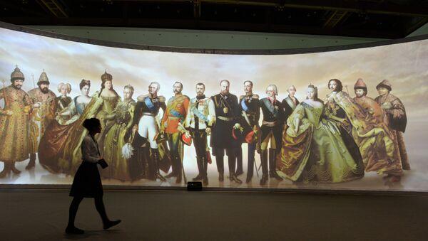 Открытие выставки Православная Русь в Москве