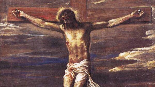 Тициан. Распятие. 1558 год. Анкона, церковь Сан-Доменико