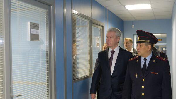 Открытие здания отдела полиции по району Красносельский после ремонта