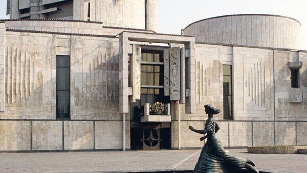 Здание Московского государственного академического детского музыкального театра им. Н.И. Сац, архивное фото