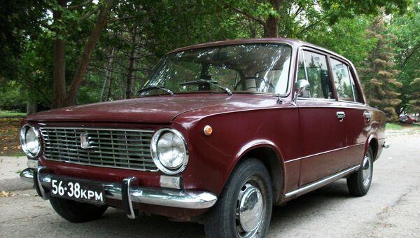 Автомобиль ВАЗ 2101. Архивное фото