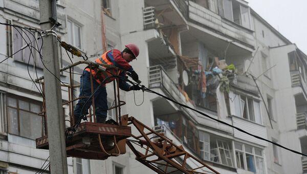 Взрыв газа в девятиэтажке в Подмосковье. Архивное фото