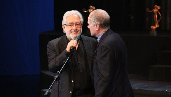 Лев Додин на церемонии вручения театральной премии Золотой софит