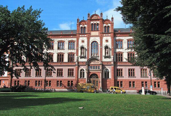 Главное здание Ростокского университета