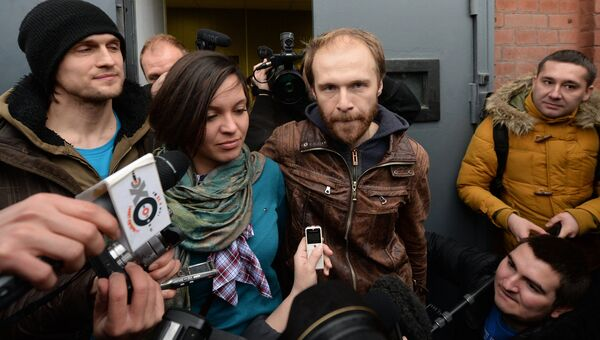 Фотограф Д.Синяков и пресс-секретарь Гринпис А.Аллахвердов отпущены под залог
