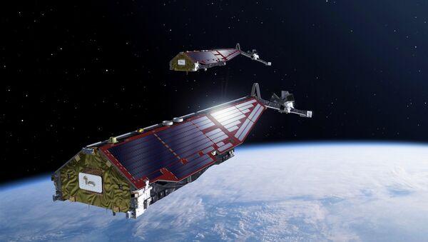Спутники Swarm на орбите