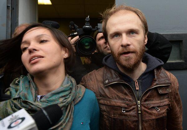 Фотограф Денис Синяков, выпущенный из-под стражи под залог в 2 миллиона рублей