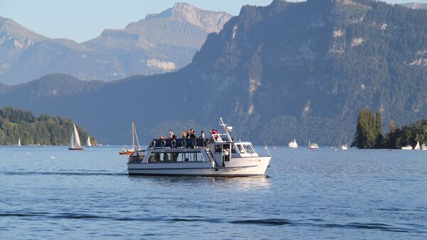 Люцернское озеро в Швейцарии