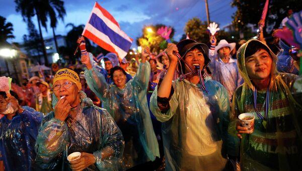 Митинг в Бангкоке. Архивное фото