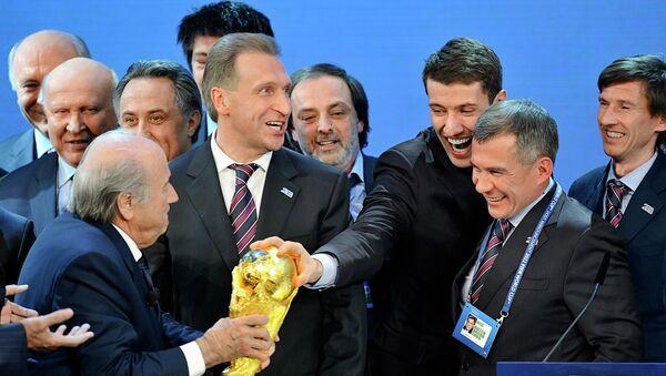 Выборы страны-организатора Чемпионата Мира по футболу 2018. Архивное фото