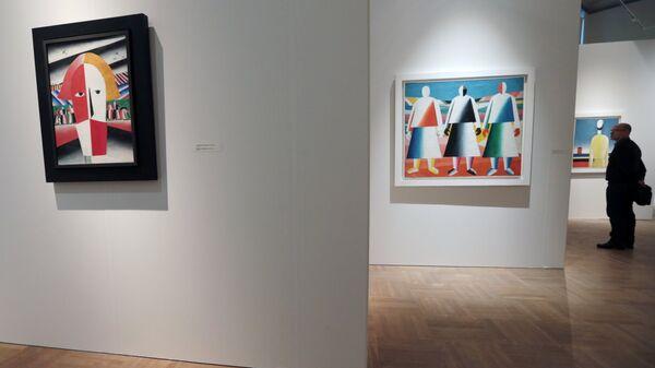 Выставка Казимир Малевич. До и после квадрата