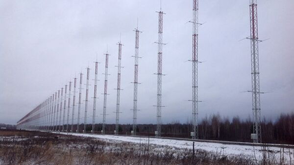 Радиолокационная станция загоризонтного обнаружения (РЛС ЗГО) Контейнер