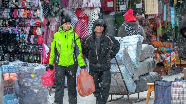 Гусинобродский вещевой рынок в Новосибирске