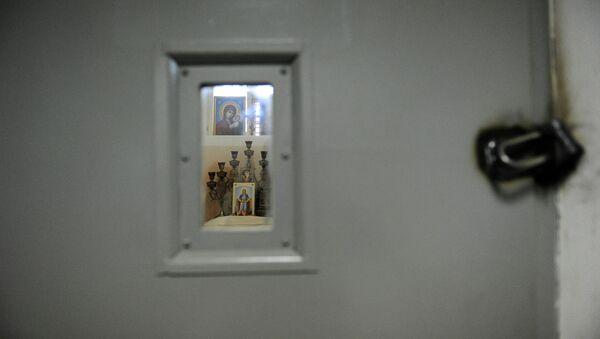 Церковь в психиатрическом отделении Бутырского следственного изолятора (СИЗО №2). Архивное фото.