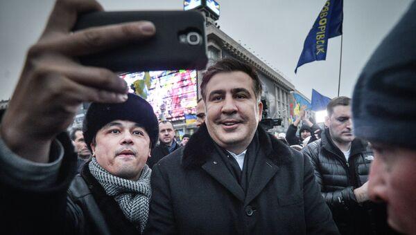 Экс-президент Грузии Михаил Саакашвили, архивное фото